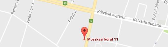 IQ Bázis Szeged térkép